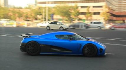Spotted in China: Koenigsegg Agera R hits the Ring in Beijing