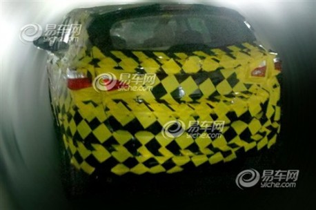 Spy Shots: Haima C2 SUV testing in China