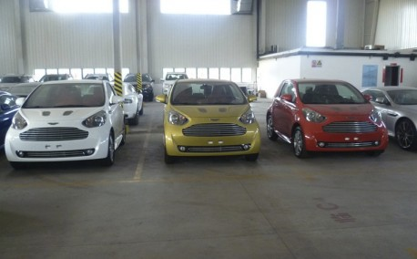 Aston Martin Cygnet arrives in China