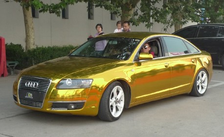 Audi A6L is Bling in China