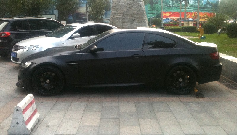 Bmw M3 Is Matte Black In China