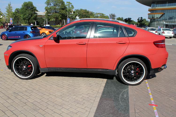 Bmw X6 Is Matte Red In China Carnewschina Com