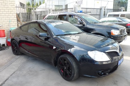 Brilliance Coupe is verry Black in China