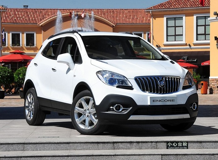 buick encore launched on the chinese car market. Black Bedroom Furniture Sets. Home Design Ideas