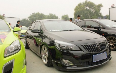 Buick Excelle XT is a Lowrider in China
