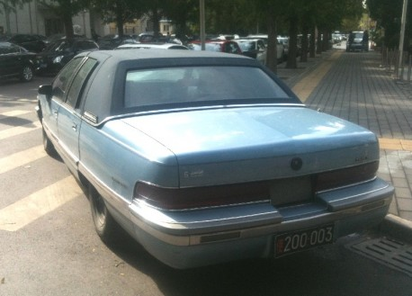 Spotted in China: 8th generation Buick Roadmaster