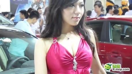 Cadillac girl in China