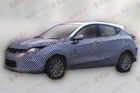 Spy Shots: Chang'an Eado XT hatchback testing in China