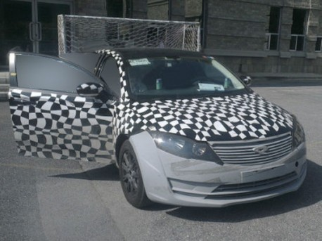 Spy Shots: Chery-Quantum Qoros gets Ready in China