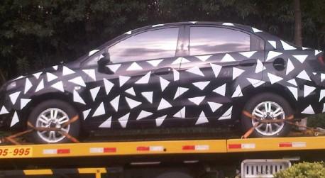 Spy Shots: facelift for the Chevrolet Sail sedan in China