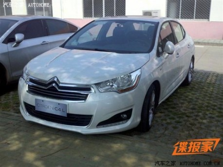 Citroen C4L naked in China again
