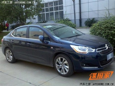 Citroen C4L naked in China againCitroen C4L naked in China again