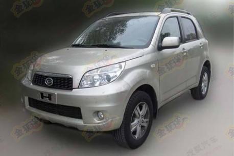Spy Shots: the Daihatsu Terios returns to China