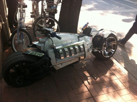 Dodge Tomahawk is very Real in China