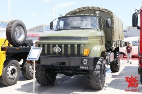 FAW army truck from China