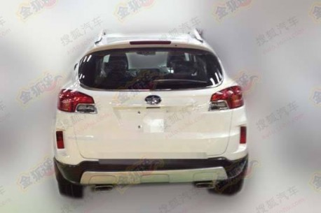 Spy Shots: FAW-Besturn X80 SUV is naked in China
