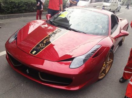 Spotted in China: Ferrari 458 Italia China Limited Edition
