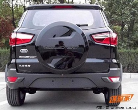China-made Ford Ecosport is ready for the Chinese auto market