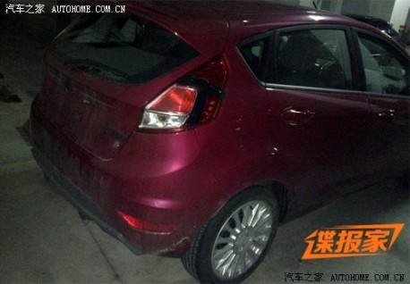 Spy Shots: facelift for the Ford Fiesta in China