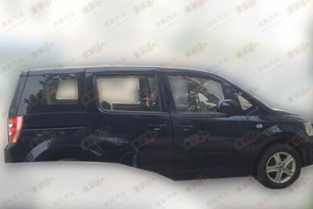 Spy Shots: Geely GLEagle GV5 testing in China