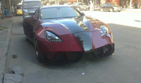 A Geely Meirenbao turns into a super supercar in China