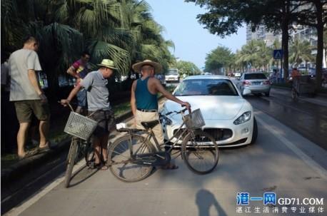 Crash Time China: Maserati GT vs Honda CR-V