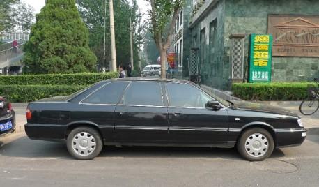 Spotted in China: Hongqi CA7202 E3L