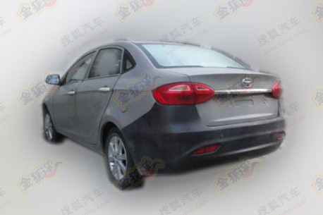 Spy Shots: JAC BII sedan testing in China