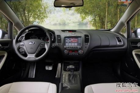 Kia K3 hits the Chinese car market
