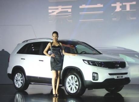 New Kia Sorento launched on the China car market