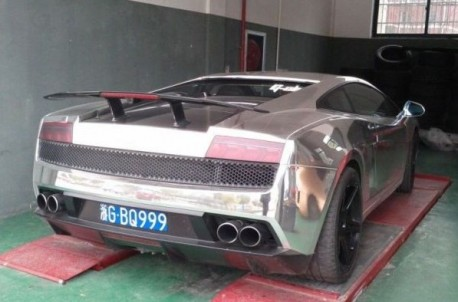 Lamborghini Gallardo is Bling in China