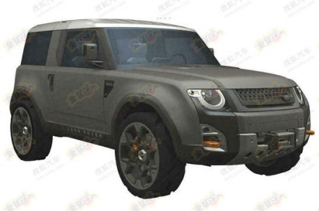 Land Rover DC100 pops up in China, production expected in 2015