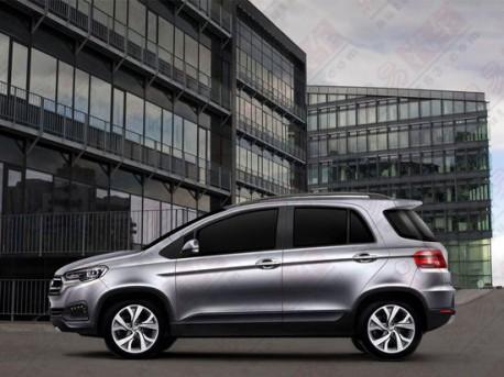 Spy Shots: new Lifan 420 SUV for China