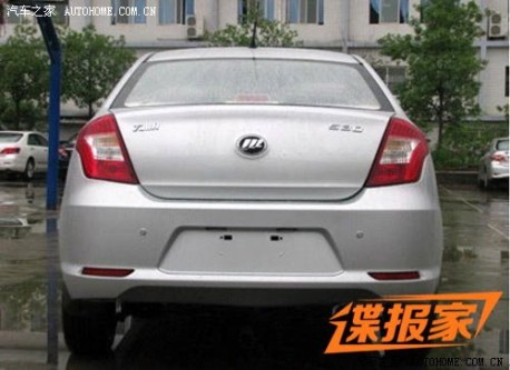 Spy Shots: Lifan 530 is Ready for the Chinese car market