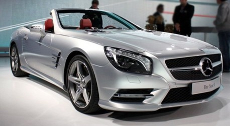 New Mercedes-Benz SL hits the Chinese auto market
