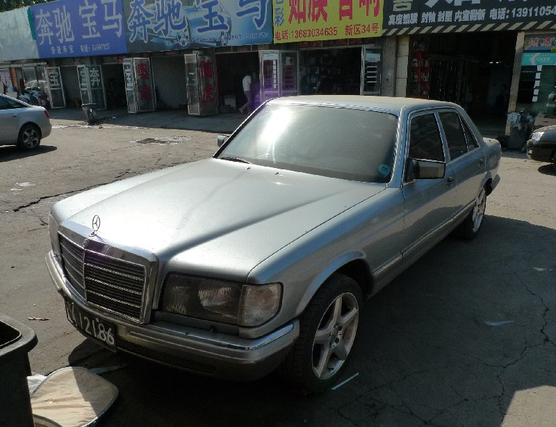 Spotted in china w126 mercedes benz 560 sel for Mercedes benz china