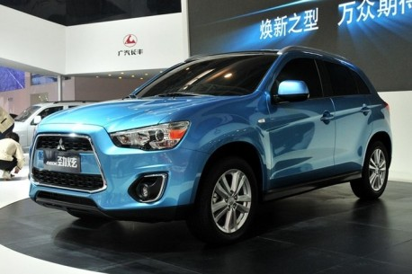 China-made Mitsubishi ASX will debut soon