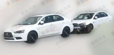 Spy Shots: facelift for the Mitsubishi Lancer EX in China
