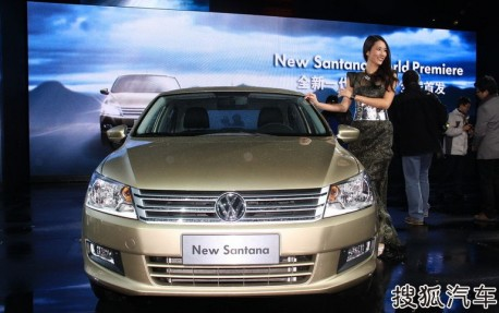 New Volkswagen Santana launched in... Germany
