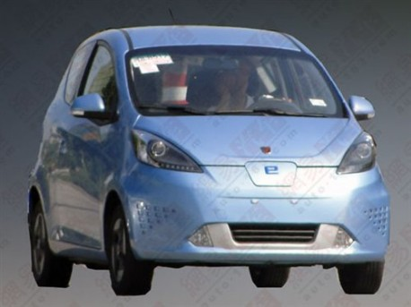 Spy Shots: Roewe E50 EV is ready for the Chinese car market, but it won't be Big