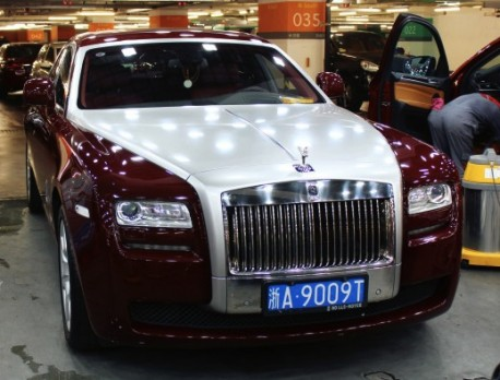 Rolls-Royce Ghost is dual tone in China