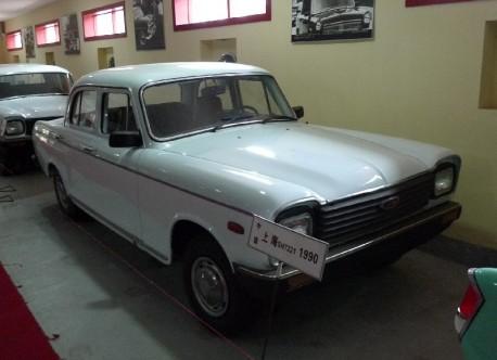 China Car History: Shanghai SH1020 SP pickup truck