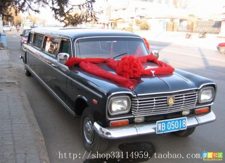 China Car History: the Shanghai SH760A stretched limousine