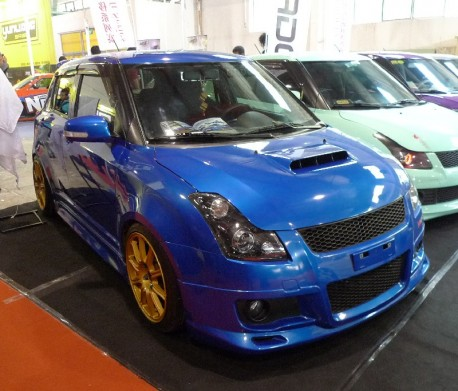 Suzuki Swift is a Subaru Impreza WRX STI in China
