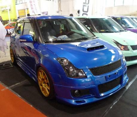 Suzuki Swift is a Subaru Impreza WRX STI in China