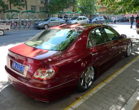 Toyota Reiz is a Lowrider in China
