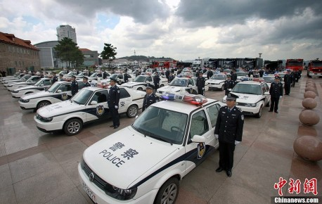 Police in China buys 50 MK2 Volkswagen Jetta patrol cars