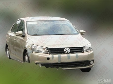 Spy Shots: new Volkswagen Santana testing in China