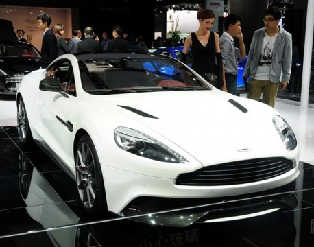 Aston Martin Vanquish launched at the Guangzhou Auto Show