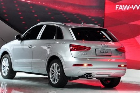 Spy Shots: China-made Audi Q3 arrives at the Guangzhou Auto Show